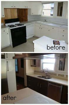 Seattle kitchen remodel- before and after