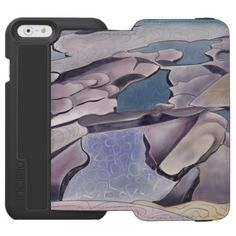 #Rock platform with swimming pools iPhone 6/6s wallet case - diy cyo customize personalize design