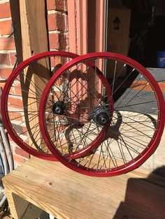 Custom Wheel Set Kink Hubs to Cinema 333 Rims