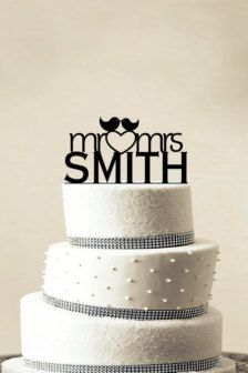 Cake Toppers in Decor - Etsy Weddings - Page 3