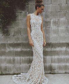BRIDAL FASHION | This gown!! What a stunner by @paolo_sebastian. Model @sjanaelise #weddinggown #weddingdress #bridalfashion #bride by magnoliarouge