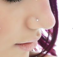 Got my nose pierced just like this for my birthday today!! Thank you @Allie Parra (sissy) for the fun sister time!
