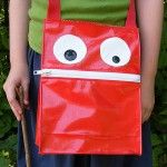 Toothy Tote Monster Tote Bag for Outdoor Exploring sewing pattern