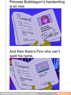 For more cool memes, cool stuff, and utter nonsense .kilroy was here! Marceline, Cartoon Network, Jagodibuja Comics, Kilroy Was Here, Adveture Time, Geeks, Finn The Human, Nice Handwriting, Jake The Dogs