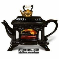 Unique tea kettle and teapots 2014, black tea kettle