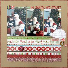 In Santa We Trust - Scrapbook.com