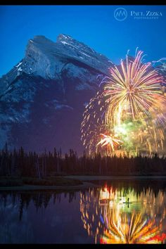 Canada Day in Banff:)