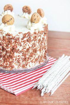 Layer cake de nata y trufa