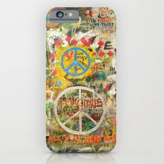 Buy Peace Sign - Love - Graffiti by Tara Holland  as a high quality iPhone & iPod Case. Worldwide shipping available at Society6.com. Just one of millions…