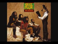 Steel Pulse True Democracy on LP from Warner Bros. Reggae Band Strikes Balance Between Social Commentary and Heartfelt Love Songs Helmed by Iconic Bob Marley, Peter Tosh Producer: Needs Music Songs, My Music, Music Videos, Music Albums, Radios, Reggae Rasta, Rasta Music, Calypso Music, Reggae Artists