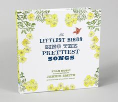 the littlest birds sing the prettiest songs, folk music illustrated