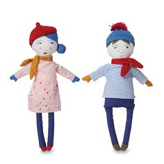 Marcel & Madou Dolls | Citta Design