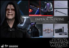 Emperor Palpatine (Deluxe Version)Sixth Scale Figure by Hot ToysEpisode VI: Return of the Jedi - Movie Masterpiece Series