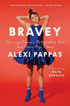 The Best New Books to Read in 2021 (So Far)   Alexi Pappas has a no-limits approach to life that's led her to the Ivy League, an Olympic running career, and starring in movies she created. In Bravey, her movingly honest memoir, she shares how her most difficult moments fueled her remarkable drive. Resulting in an engaging portrayal of resilience, proving challenges limit you only if you let them. #realsimple #bookrecomendations #thingstodo #bookstoread