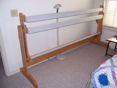 Looking for Quilt Frame plans - by PaBull @ LumberJocks.com ~ woodworking community