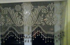 Filet Crochet, Crochet Stitches, Crochet Patterns, Crochet Curtains, Crochet Home Decor, Needlework, Embroidery, Painting, Crochet Ornaments