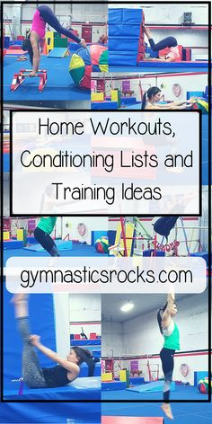 Conditioning Lists for Gymnastics Coaches – Gymnastics Rocks!