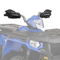 Polaris OEM ATV Sportsman Hand BrushWind Guard AND Mount Kit BLACK Touring Model  Car  Vehicle Accessories  Parts -- You can find out more details at the link of the image.