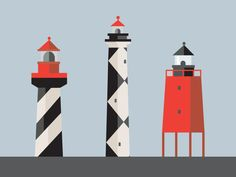 Saved by Oli Soden (olisoden). Discover more of the best Illustration, Nautical, Geometry, Behance, and Lighthouse inspiration on Designspiration Creative Illustration, Graphic Illustration, Graphic Art, Nautical Theme, Creative Inspiration, Design Inspiration, Vector Art, Geometry, Creations