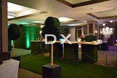 Boxwood sur mesure - mur de gazon-Longue table Bourbon by DX Design