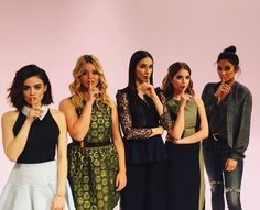 SHHHHH! It's no secret tomorrow is the PLL winter premiere on Freeform! #5YearsForward