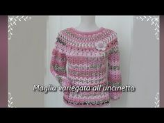Crochet Baby, Sweater Cardigan, Crochet Patterns, Pullover, Sewing, Blouse, Handmade, Dresses, Fashion