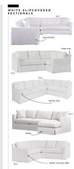 15 Best White Sofa Slipcover Ideas