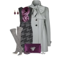 Matching Bag/ Scarf & Matching Boots/ Coat Contest 2, created by kginger on Polyvore