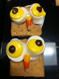Halloween/Fall Craft – Smores' OWL's!