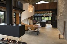 Anzac Bay House by Vaughn Mcquarrie Ltd won a Residential Architecture Silver Pin. New Zealand Houses, Interior Decorating, Interior Design, Modern Interior, Guest Bedrooms, Residential Architecture, Design Awards, Auckland, Beautiful Homes