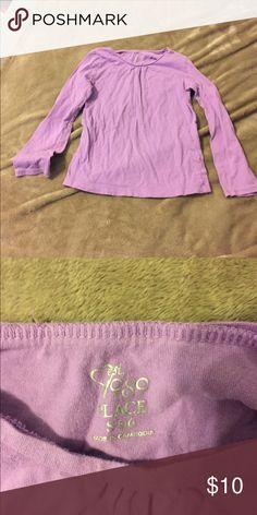 Long Sleeve Blouse Children's Place lavender long sleeve blouse. Girl size small 5/6. Children's Place Shirts & Tops Blouses