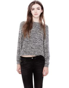 :CUTWORK CROP JERSEY