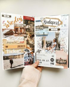 Planner Bullet Journal, Bullet Journal Travel, Bullet Journal Writing, Bullet Journal Ideas Pages, Bullet Journal Inspiration, Art Journal Pages, Bullet Journals, Travel Journal Pages, Sketch Journal