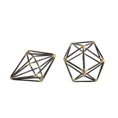 Round Metal Geometri