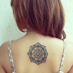 Mandala expresses a spiritual & balanced attitude towards life. It is a symbol of eternity, unity & completeness.