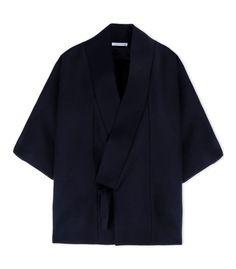 J.W.Anderson Dark Blue Kimono Jacket