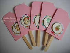 Pensieri di carta: Ice cream card - invito per un compleanno speciale