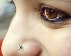 MACS Jewelry handcrafted beautiful Indian nose stud for pierced nose