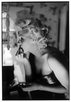 Marilyn's make-up