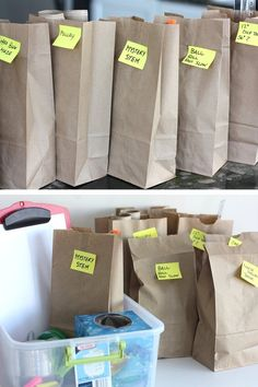 Paper bag STEM challenges week of ideas for kids Mary Poppins 28212b42c10