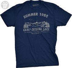 Camp Crystal Lake Summer 1980 T-Shirt Vintage Movie Tee 3XL (*Amazon Partner-Link)