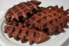 Make brownies in waffle machine.  - Tidy Tangle