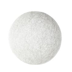 Suspension boule en rotin blanche D 60 cm NUBIA