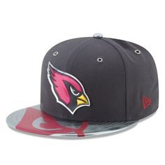 e3d5500be54 Arizona Cardinals New Era NFL Spotlight 59FIFTY Fitted Hat - Graphite