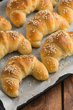 Polish Recipes, Something Sweet, Bagel, Food And Drink, Menu, Bread, Snacks, Baking, Croissants