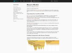 Une nouvelle version de la célèbre bibliothèque JavaScript React vient de sortir.  La version 15.4.0 de React vient de sortir.   http://www.noemiconcept.com/index.php/en/departement-communication/news-departement-com/207546-webdesign-une-nouvelle-version-de-la-c%C3%A9l%C3%A8bre-biblioth%C3%A8que-javascript-react-vient-de-sortir.html