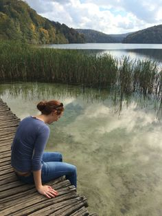 Sublime mirror-like lakes at Plitvice Lakes national park