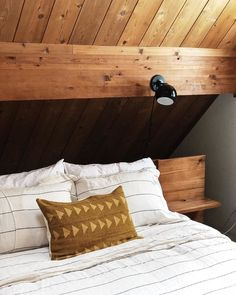 The first day back at work after a long holiday is rough. Ready to climb back in bed! Schoolhouse Issac Plug In Sconce  via @vermontcabin