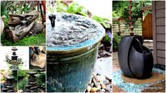 26 Wonderful Outdoor DIY Water Features That Will Beautify Your Backyard