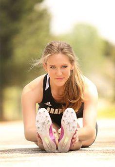 Senior Portrait / Photo / Picture Idea - Track - Girls - Stretch